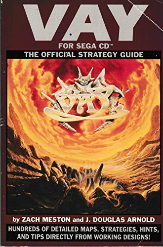 Vay: The Official Strategy Guide by Zach Meston (1994-07-31)