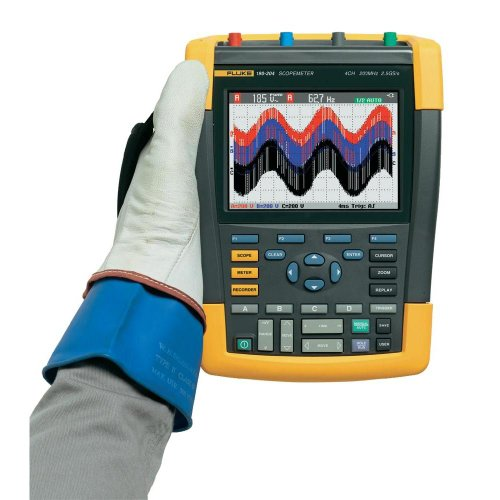 Scope-Meter Fluke 190-104/EU/S 100 MHz 1.25 Gps 10 kpts 8 bits 4 canales