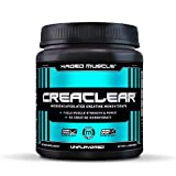 Creatine Monohydrate Powder to Build Muscle & Strength, Kaged Muscle CreaClear Creatine Powder, Proprietary Technology for Superior Solubility; Unflavored Creatine Monohydrate Supplement