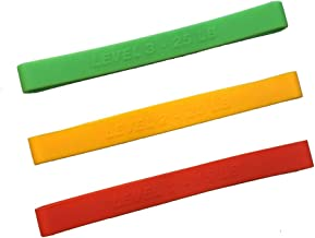 3 Pack Power Resistance Band Fit For Upper Body Wonder Arm Workout Fitness Machine