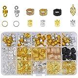 YMWALK 200 pièces bijoux de cheveux accessoires de cheveux