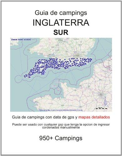 Guia de campings en SUR DE INGLATERRA (con data de gps y mapas detallados)