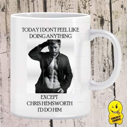 I Would do Chris Hemsworth Mug - Thor **Free P&P**