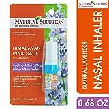 Natural Solution Himalayan Pink Salt Aromatherapy Nasal Inhaler,Cooling & Refreshing, Relaxing...
