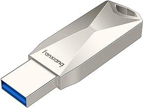 F315 128GB USB Flash Drive with 250MB/s Data Transfer Speed, USB A 3.1 Memory Stick Thumb Drive Silver(USB 128GB)