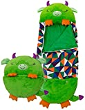 ikasus Happy Play Pillow And Sleeping Bag Fun Sleeping Bags for Kids Trespass - Verde