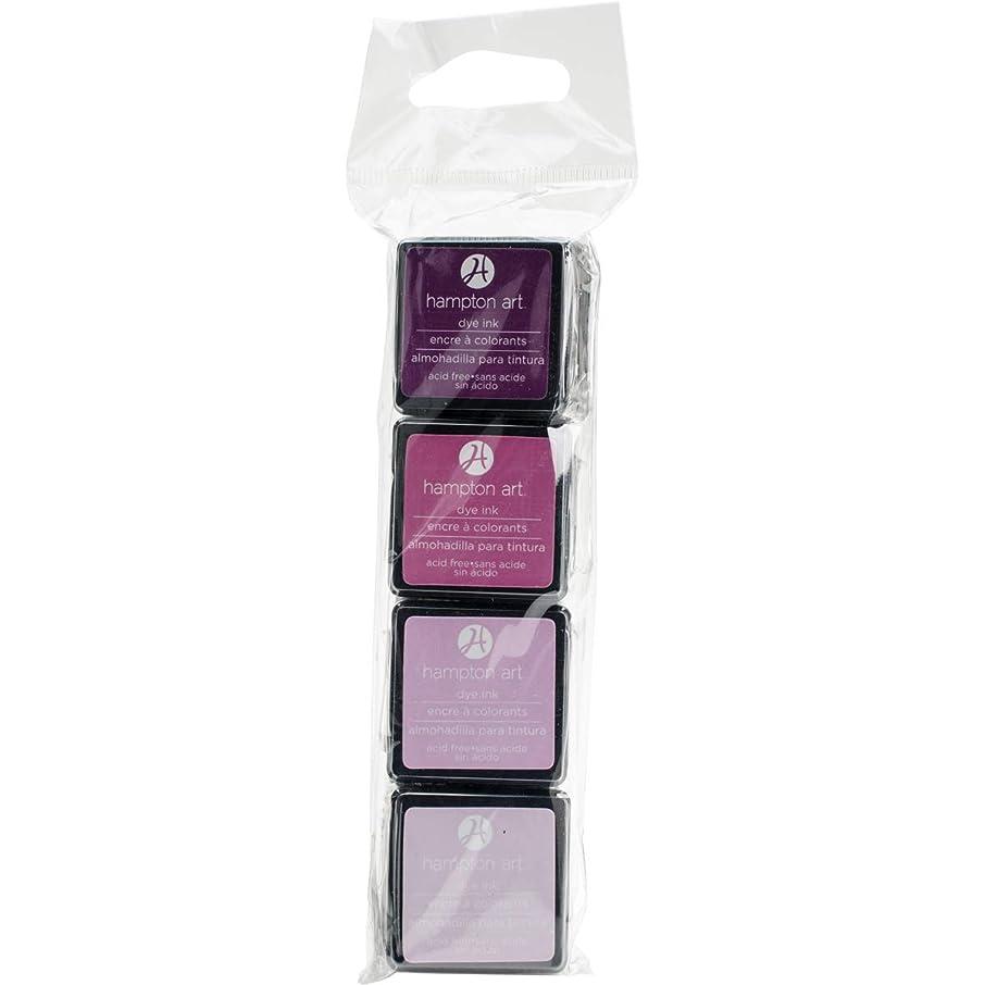 Hampton Art Ink Pads 4pk Lovely Lilac