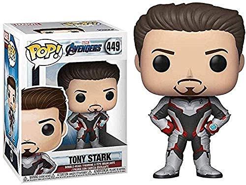 ADIS Ironman Figurenspielzeug! Tony Stark Actionfigur Film Masterpiece Collection Figure Exquisite Verpackung 10CM