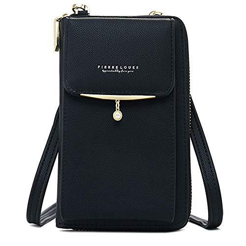 Womens Crossbody Cellphone Bag Small Shoulder Purse Wallet Case Travel Card Handbag