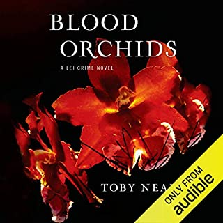 Blood Orchids audiobook cover art