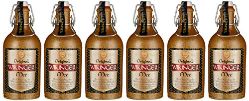Wikinger Met | Das Original | 6 x 500ml | Im Tonkrug
