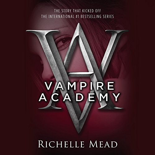 Vampire Academy audiobook cover art