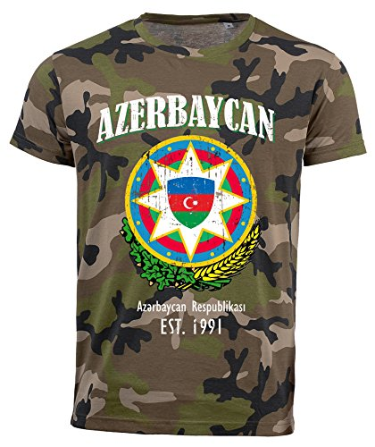 aprom Aserbaidschan Camouflage T-Shirt D04 (S)