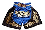 Nakarad Kid Muay Thai Boxing Shorts 2 Years Old - 10 Years Old (Blue, XS)