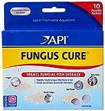 API UNGUS Cure Freshwater Fish Powder Medication 10-Count Box