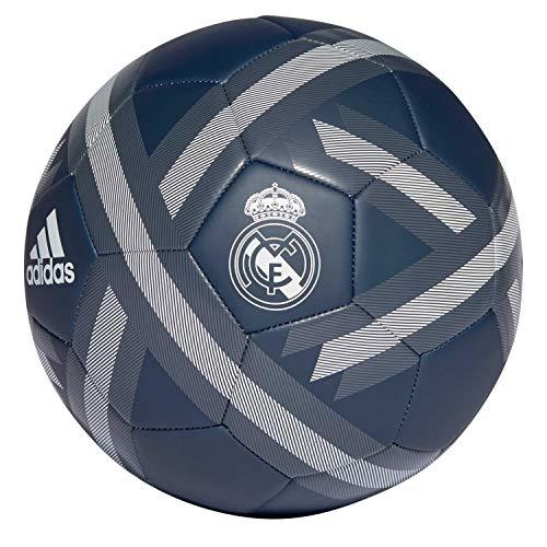 adidas Herren Real Madrid Football Fußball, Tech Onix/Bold Onix/White, 5