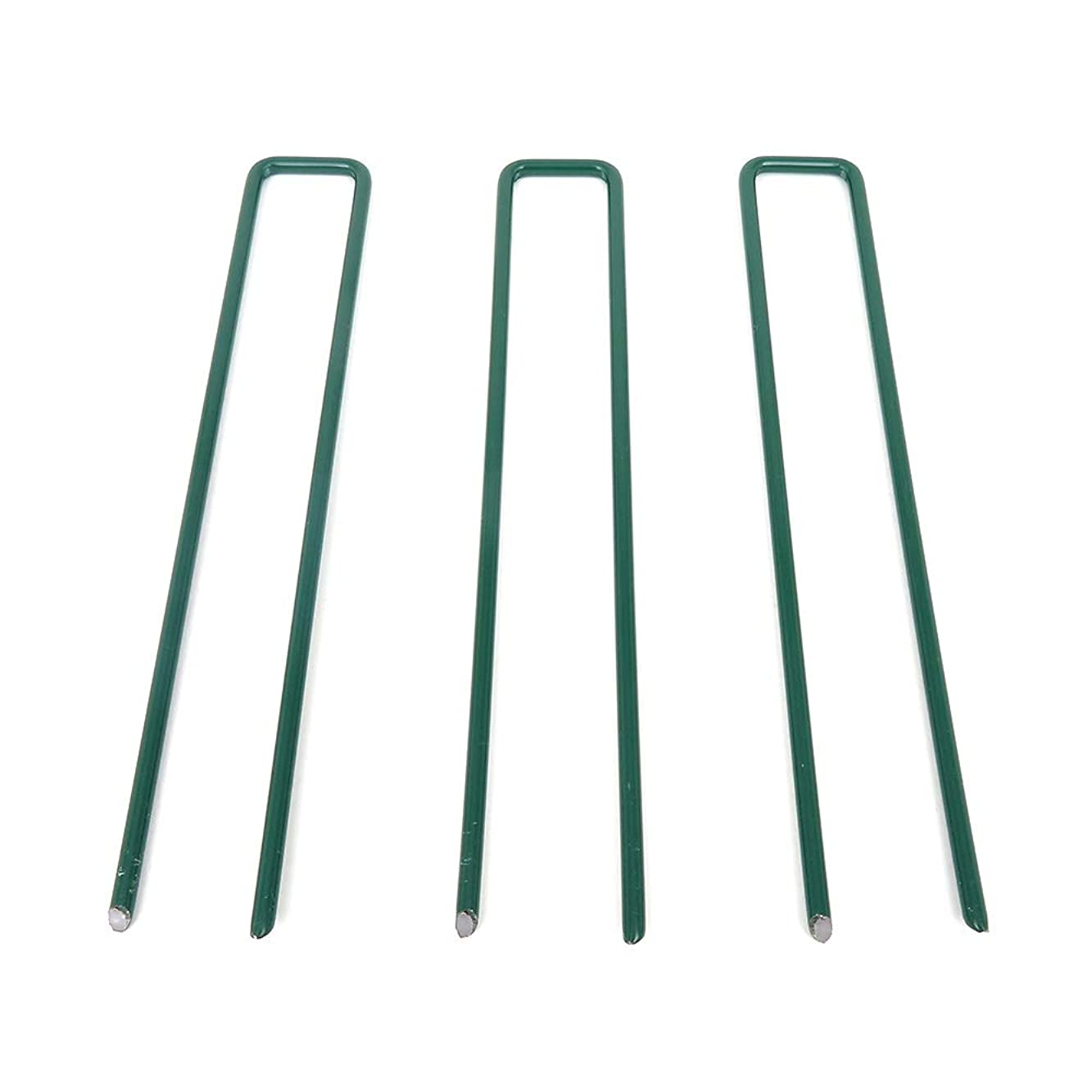 メンテナンス重要な魅惑する人工芝専用 ロングU字ピン50本 1袋 30mm×180mm JQ5 《メーカー直送品》