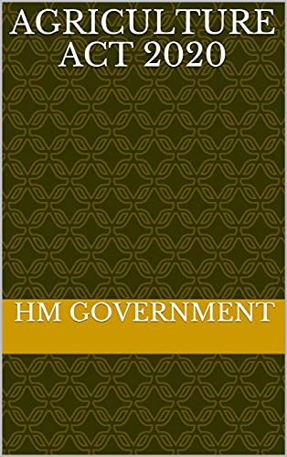 Agriculture Act 2020 (English Edition)