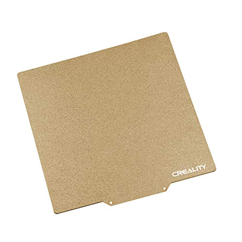 Creality PEI Sheet Printing Bed Kits Adesivo Magnetico Rimovibile Letto Riscaldato con Superficie Satinata 235x235 * 2mm per Stampanti 3D Ender 5 / Ender 3 Series/CR-20 Series/CP-01 3D