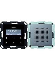 Gira 228028 inbouwradio RDS System 55, antraciet