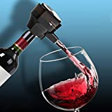 Red Wine Decanter Drainers 2 in 1 Portable Electric Smart Automatic Beer Bubbler Wine Aerator for Bar Party Drinking Tools