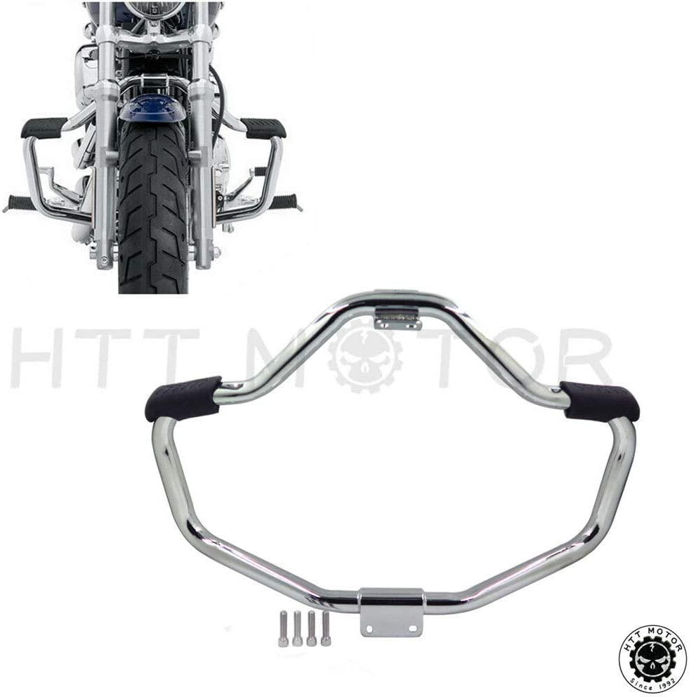 Chrome Engine Guard Crash Bar Fit Sportster Superlow 2004-2017 X Same day shipping Credence
