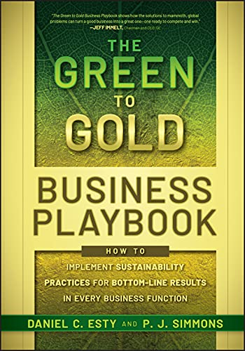 Compare Textbook Prices for The Green to Gold Business Playbook 1 Edition ISBN 9780470590751 by Esty, Daniel C.