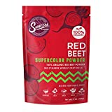 Suncore Foods – Organic Red Beet Supercolor Powder, 5oz each (1 Pack) – Natural Beetroot Food Coloring Powder, Plant Based, Vegan, Gluten Free, Non-GMO, No Additive, No Added Sugar