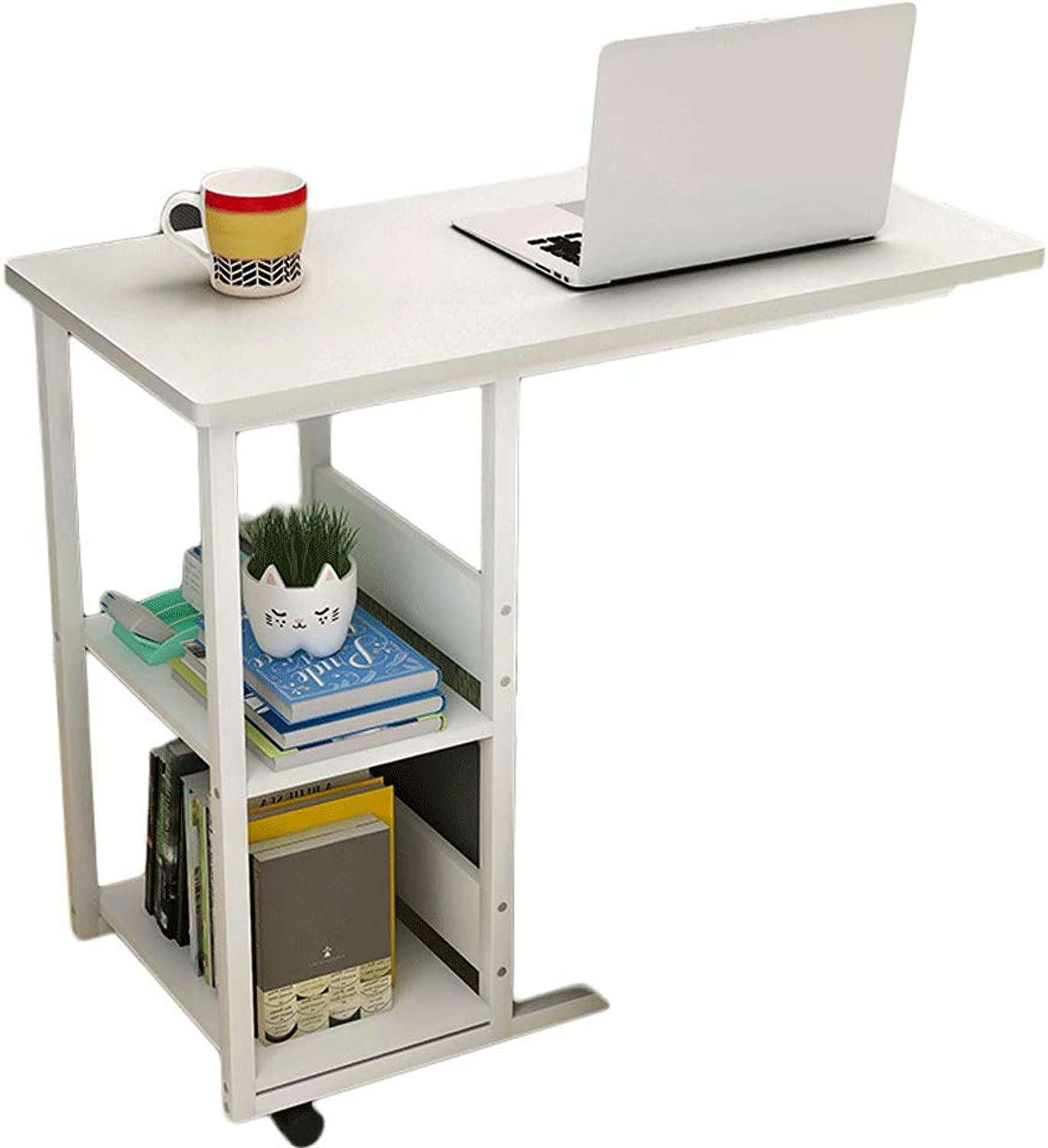 Laptop Lazy Bed Desk Simple Small Table Bedroom Student Home Simple Removable Storage Bedside Table, Coffee Table A+ (color   A3)
