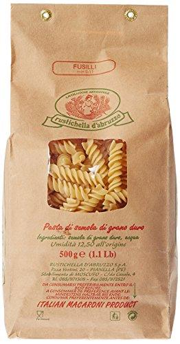 Rustichella d'Abruzzo - Fusilli italienische Spiralnudeln - 500g