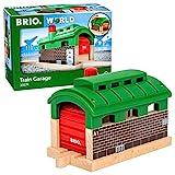 BRIO World - 33574 - Tunnel Garage - Accessoire pour circuit de train en bois - Action de jeu sans pile - Jouet pour garçons et filles à partir de 3 ans
