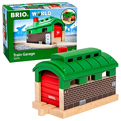 BRIO Bahn 33574 - Lokschuppen mit Rolltor