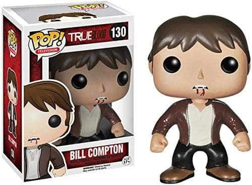 Funko - Figurine True Blood - Bill Compton Pop 10cm - 0849803040666