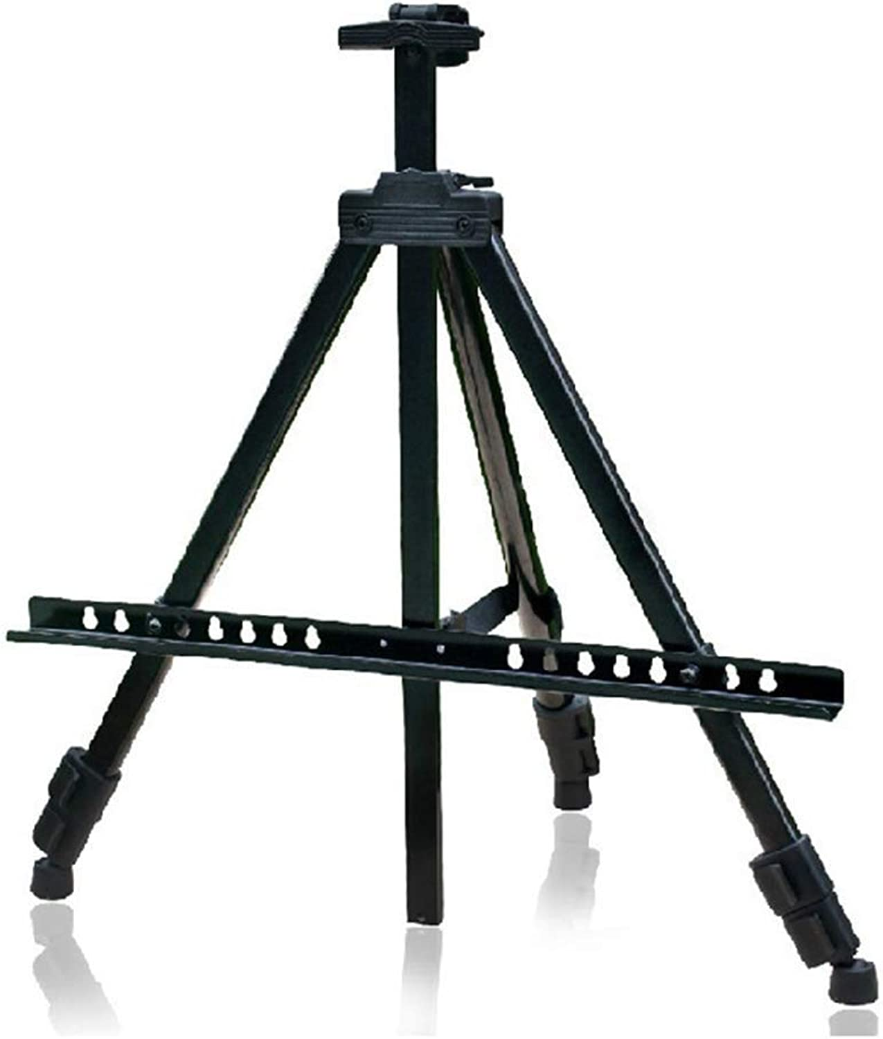 YYHSND Sketchboard Bracket, Portable Foldable Metal Easel, Tripod, Three-Legged Wrought Iron Display Stand Easel