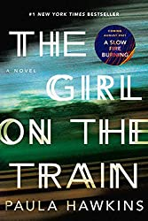 book titled The Girl On the Train