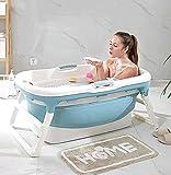 Baignoire pliant adulte, baignoire portable, baignoire domestique baignoire spa plastique antidérapant baignoire isolée,A