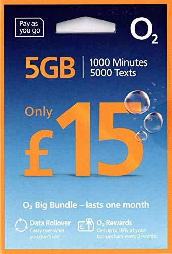 O2 PREPAID 4G GROßE Wert Bundles MULTI Sim Karte - Pay Wie Du Go - Enthält Nano/Mikro/Standard - UNBEGRENZTE ANRUFE, SMS & DATEN Für IPHONE 4/4S/5/5C/5S/6/6S/6 Ipad 2/3/4/5/Luft/Air2/Air5 / GALAXY S2/S3/S4/S5/S6/S6-Edge / Galaxy TAB / NOTIZEN 2/3/4/5- VERPACKT - > MOBILES DIRECTS COMMUNICATIONS LTD