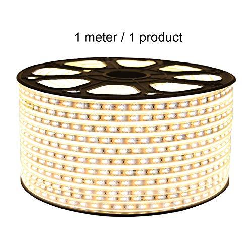 Mogicry 1M LED Plafoniera per Feste in vetroresina Atmosfera Luminosa Salotto Cove Luce Business a Colori Illuminazione per Ambienti Interni Luce 80/120/144/168/192 Perline Lampada