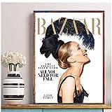 sechars Sarah Jessica Parker Magazin Cover Poster Wandbild