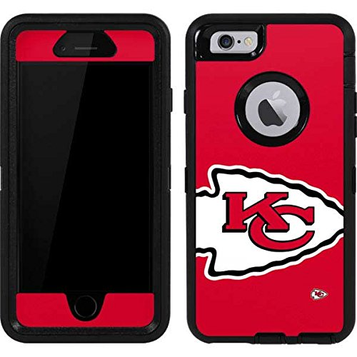 Skinit Decal Skin Compatible with OtterBox Defender iPhone 6 - Officially Licensed NFL Kansas City Chiefs Large Logo Design
