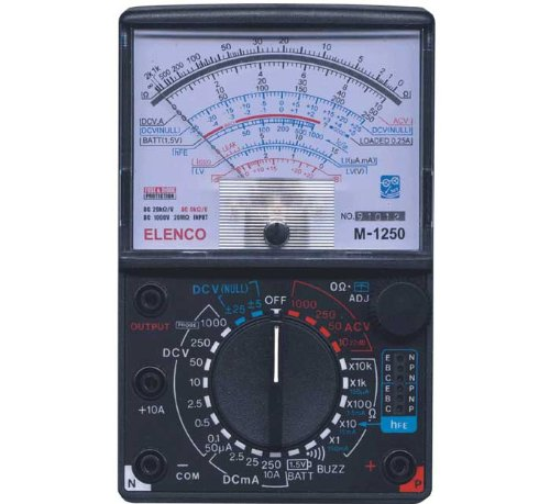 Elenco 23 Range 20k/V VOM Mulitmeter