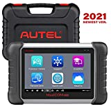 Autel Scanner MK808, 2021 Newest OBD2 Scanner Diagnostic Scan Tool for All Cars with All System Diagnostic and 25+ Service Functions Including Oil Reset, EPB, BMS, SAS, DPF, TPMS Relearn Functions