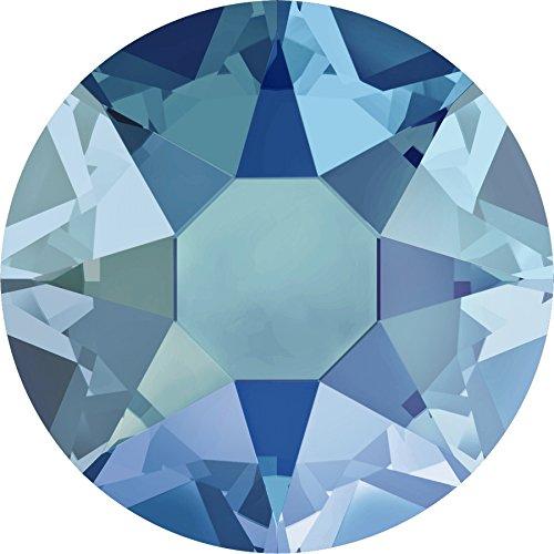 Swarovski® Kristalle 2078 HotFix SS16 (ca. 3.9mm) 100 Stück Light Sapphire Shimmer