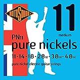 Rotosound PN11 - Juego de cuerdas para guitarra eléctrica de níquel, 11 14 18 28 38 48