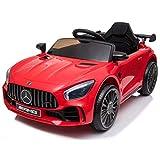 ATAA Mercedes GTR Mini 12v - Rojo - Coche eléctrico para niños con batería 12v