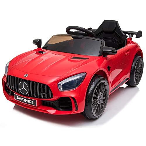ATAA Mercedes GTR Mini 12v - Rojo - Coche eléctrico para niños...