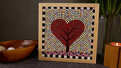 Mosaico Kit, 20x20 cm, Pesce