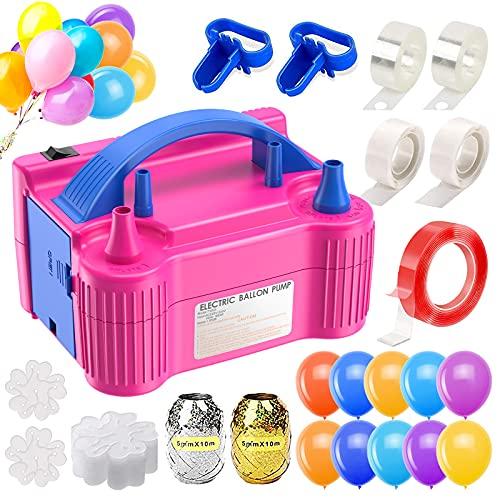 Balloon Pump Electric, Ezire Balloon Inflators Machine Dual Nozzle...