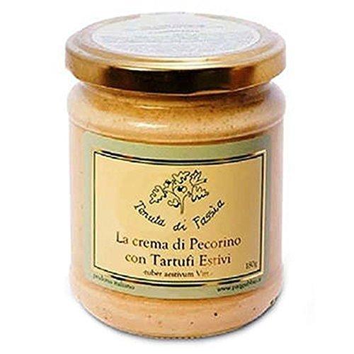 Crema de queso Pecorino con Trufas 180g - Producto típico italiano