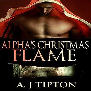 Alpha's Christmas Flame audiobook cover art